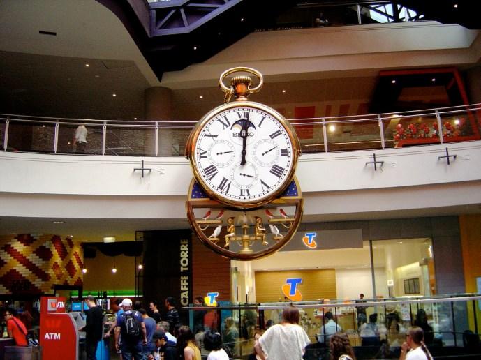 Melbourne Central Horloge