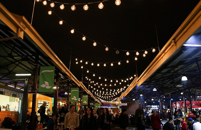 Queens Victoria Market night1