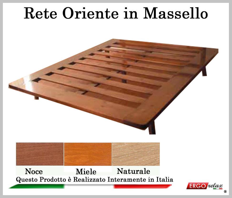 Rete in Legno Mod Oriente 120X190195200 100 Made in Italy