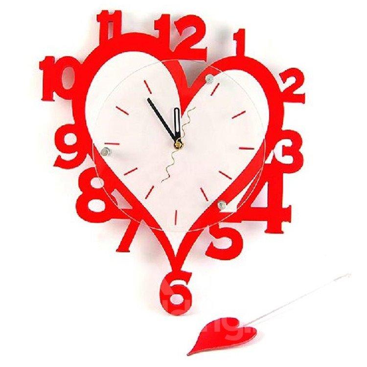 amazing numbers design heart