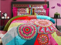 High Class Unique Ethnic Design 4-Piece Cotton Duvet Cover ...