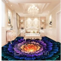 Splendid Three-dimensional Colorful Flower Pattern ...