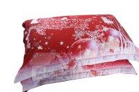Vivilinen Christmas Reindeer and Snowflake Printed Cotton ...