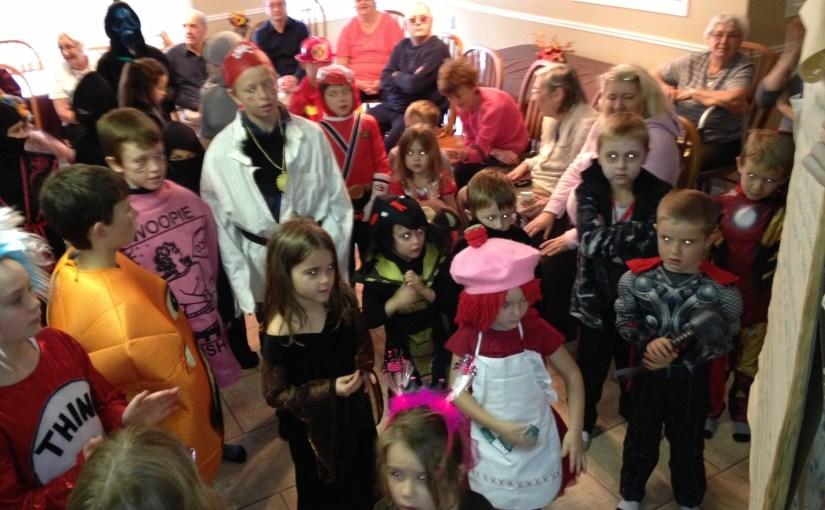 Halloween 2012 at Rosewood - CQUC
