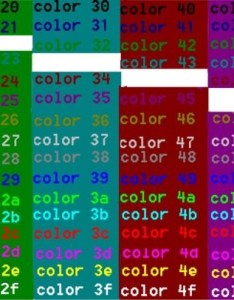 Cmd colors also color foreground and background colours windows ss rh