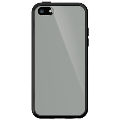 clear cover with black
