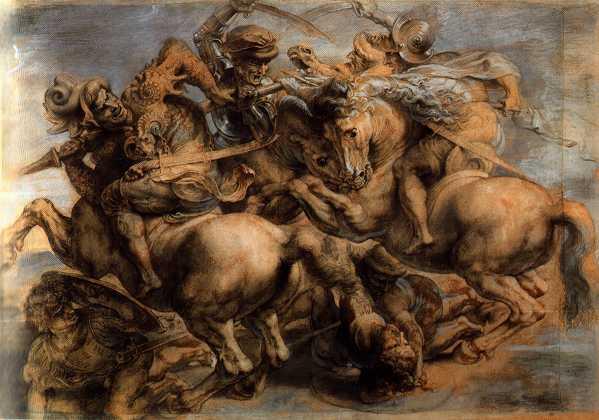 Battaglia di Anghiari - Rubens, Louvre Parigi
