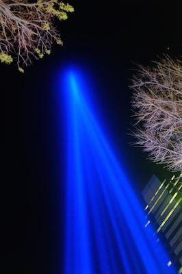 武蔵小杉 北口 COSUGI TOWER OF LIGHT コスギ タワー オブ ライト 光の塔