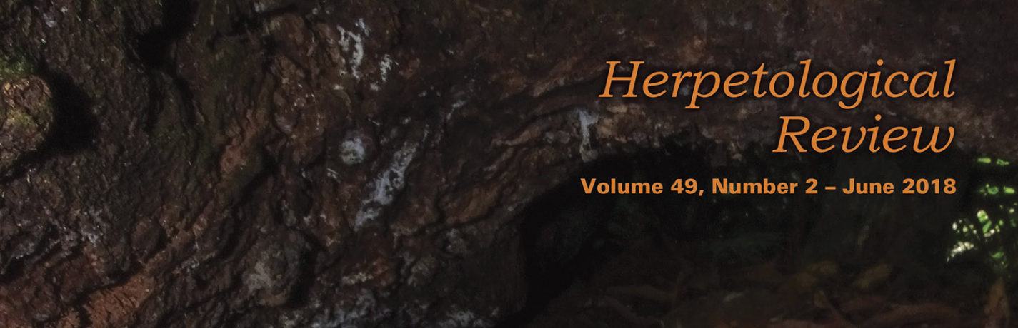 Herpetological Review 49(2) available online!