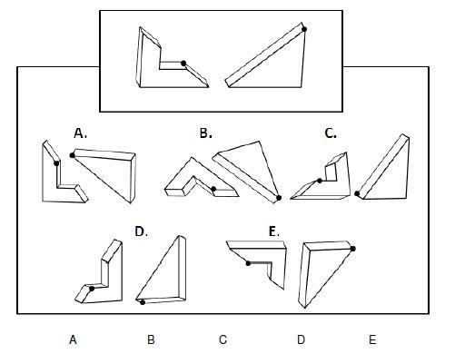 AFCAT 2017 Exam Spatial Reasoning Test Latest MCQs