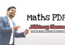 Abhinay Sharma Maths Book pdf Download