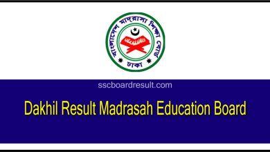 Dakhil Result Madrasah Board