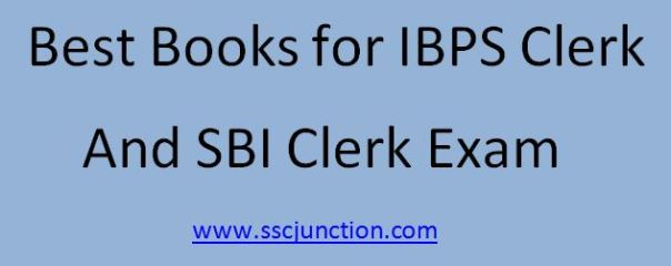 best books for SBI Clerk Exam