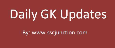 Daily GK Updates