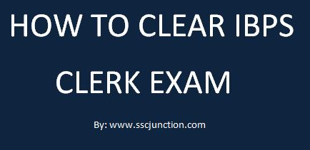 how to clear ibps clerk exam