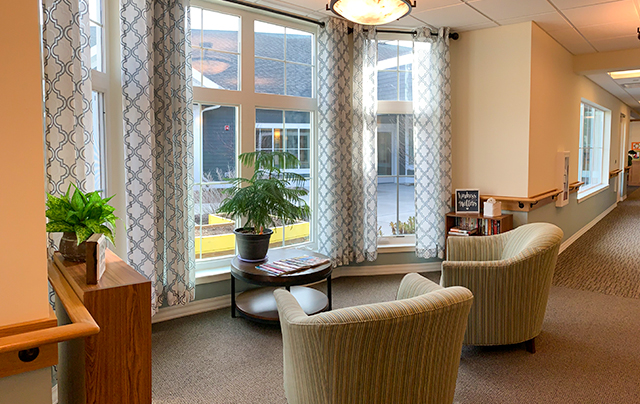 Living area in assisted living household at SSC.