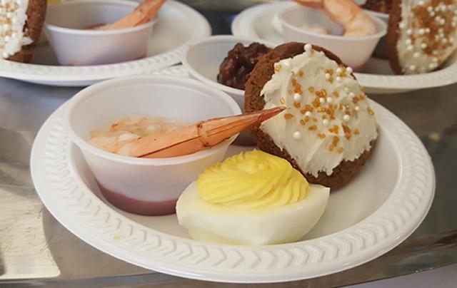 Food served at SSC nursing home