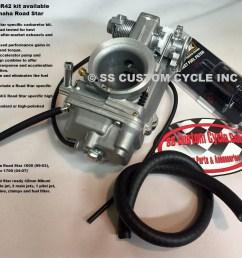 hsr 42 carburetor kit [ 1438 x 1164 Pixel ]