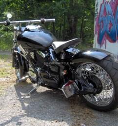 bobber rear fender for v star 650 1100 ss custom cycle custom yamaha v star 1300 [ 1200 x 967 Pixel ]