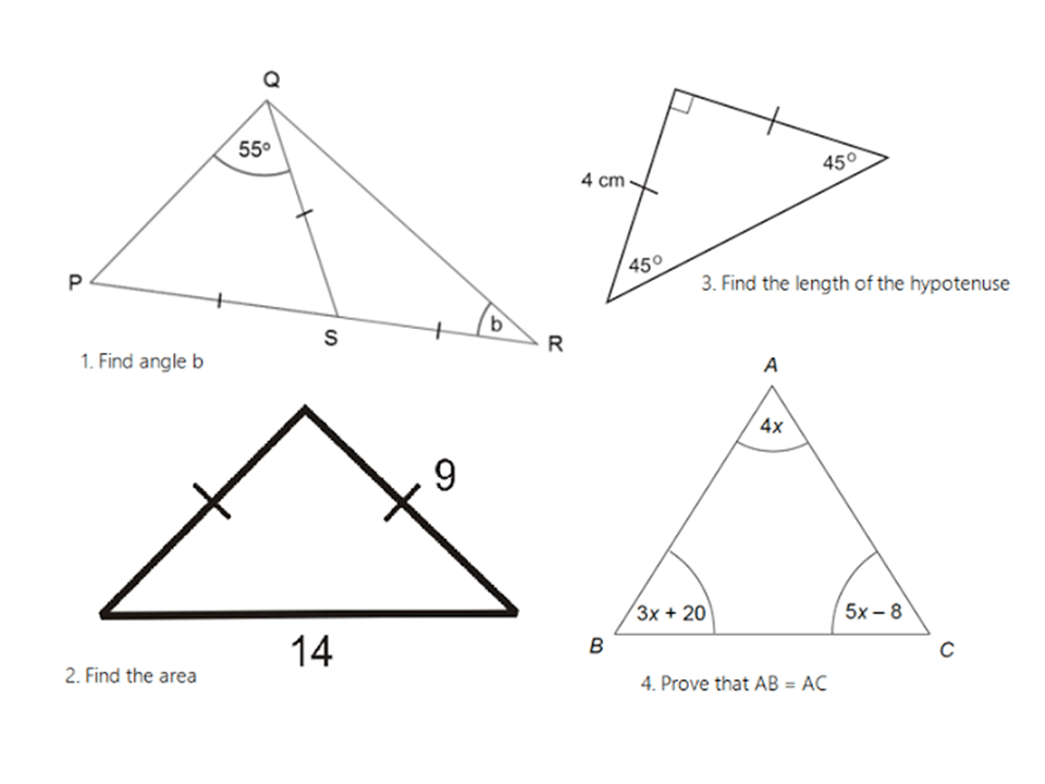 Isosceles Triangles 2