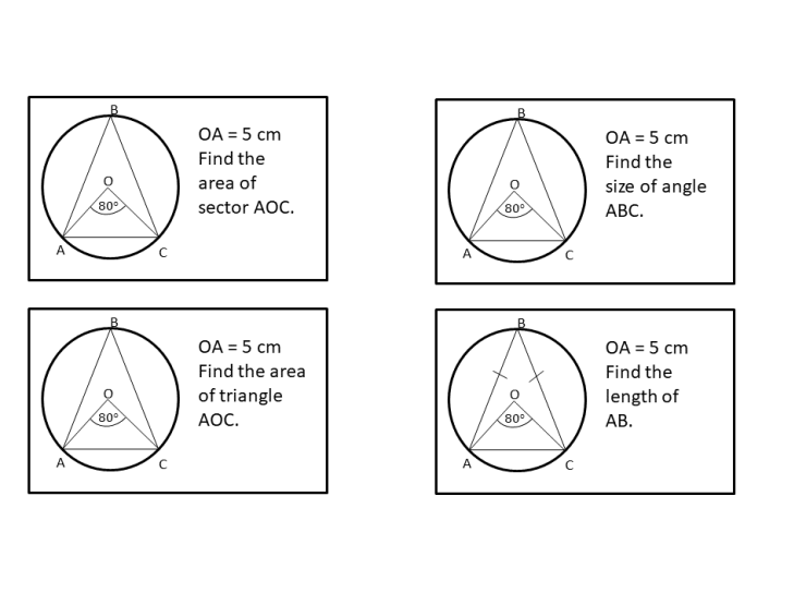 Circle theorems – SSDD Problems