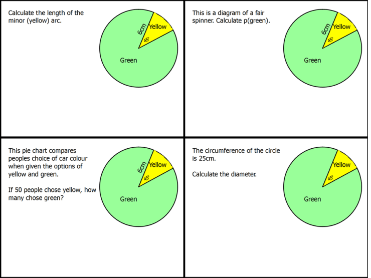 Sectors of a circle 3 ssdd problems sectors of a circle 3 ccuart Choice Image