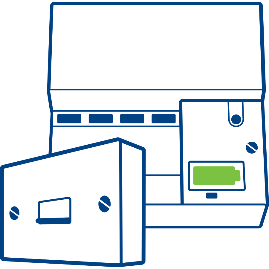 hight resolution of diagram showing how a phone test socket a small rectangular box detaches from the