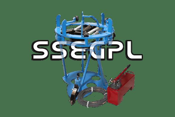 Hydraulic internal lineup clamp