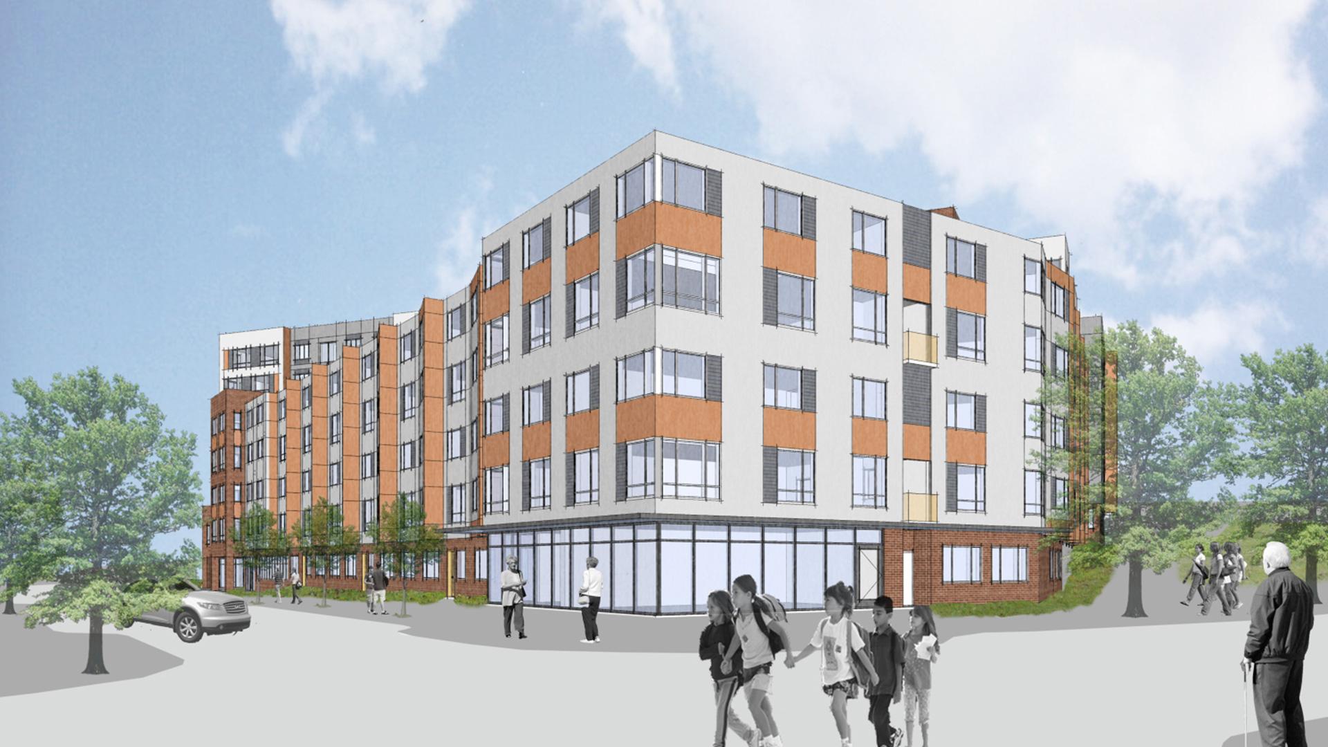 Yesler Terrace Building 4  Red Cedar Apartments  Swenson