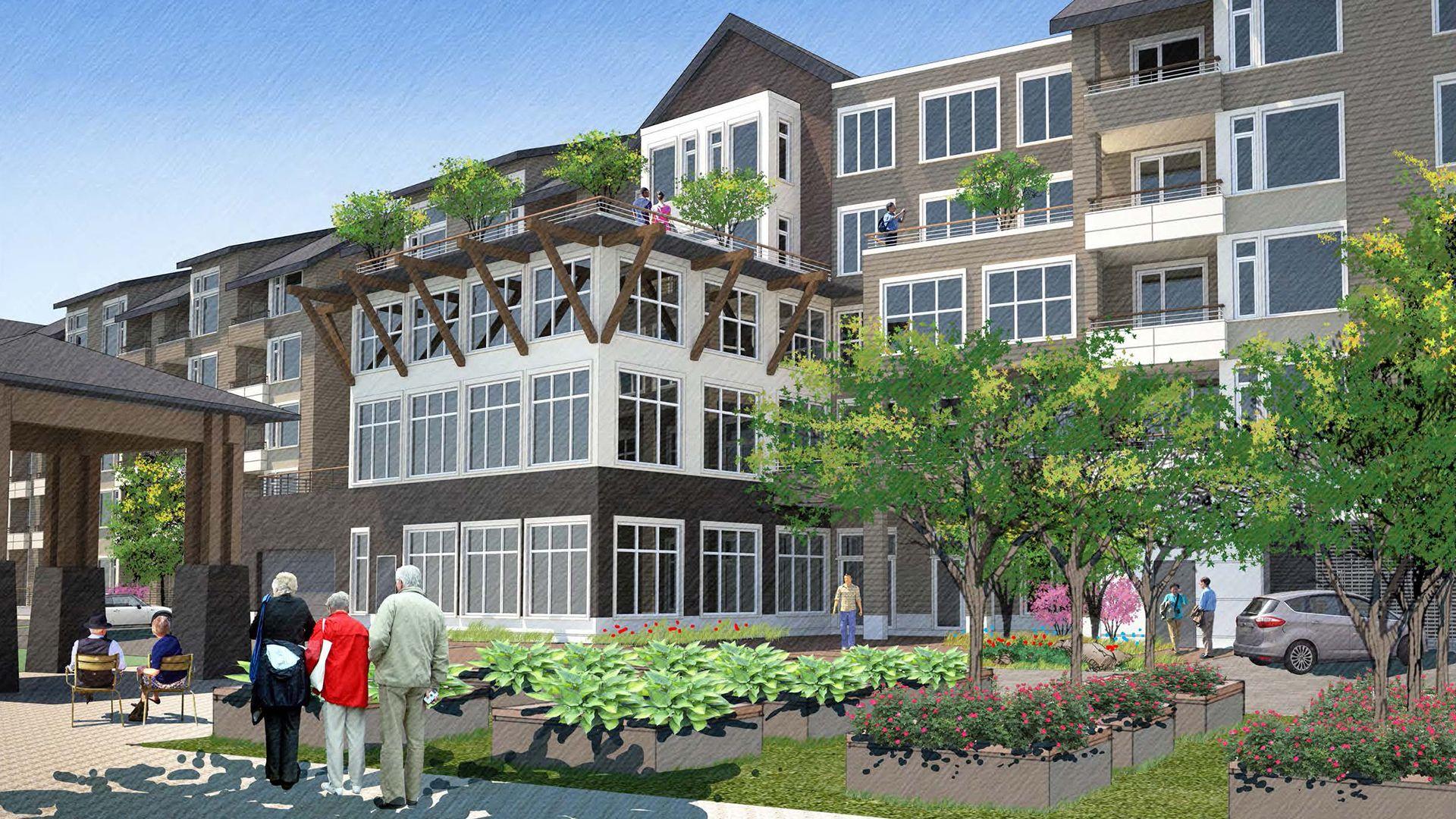 Issaquah Gateway / Anthology & Senior Housing