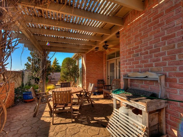 different types of patio covers
