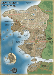 magnimar map monuments maps golarion rise star location faerun mappa campaign districts result shattered where dei soul