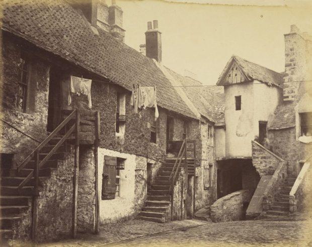 William Donaldson Clark, White Horse Close, Edinburgh, About 1860,