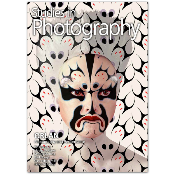 Cover image: ORLAN Self-Hybridisations – Masks of the Peking Opera, Facing Designs and Augmented Reality No. 10 , colour photograph 2014