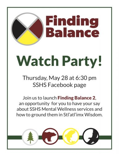 Finding Balance launch Watch Party on Thursday, May 28!    Workbook and Survey available here!