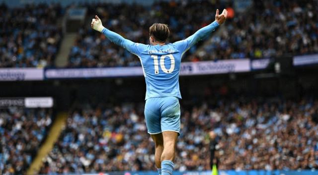 Grealish bags first City goal as champs cruise, Liverpool beat Burnley
