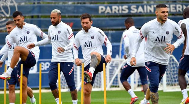 PSG to play Man City in UCL group stage