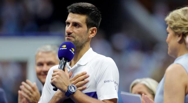 Djokovic feels 'relief' after bid for calendar Grand Slam falls short