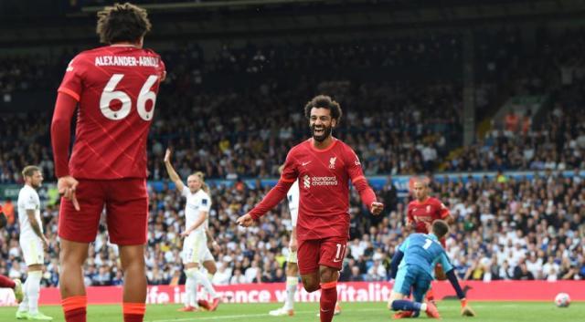 Salah joins 100 club as Liverpool win at Leeds