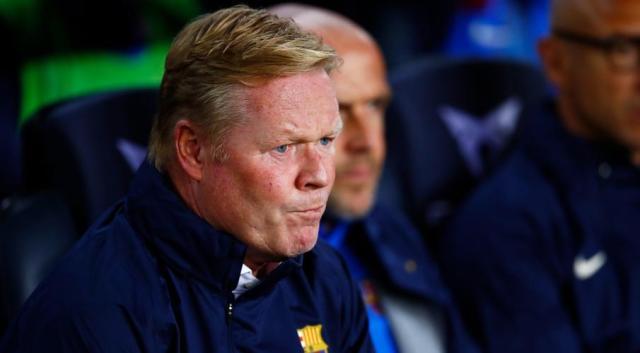 Barca chief offers Koeman backing but wants better football