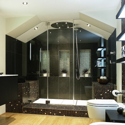 7  Corner Cut or Roof Pitch Cut  Frameless Showers  SSI