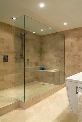 6  Frameless Walkin Shower Panels  SSI
