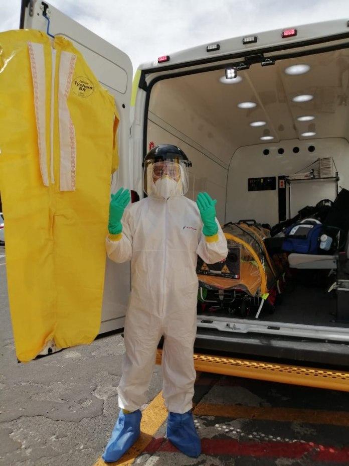 Presentan ambulancia para atender casos de Covid-19 | Secretaría ...
