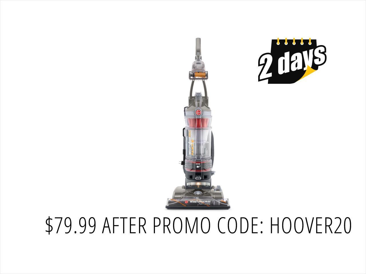 Hoover WindTunnel MAX Pet Plus Multi-Cyclonic Bagless