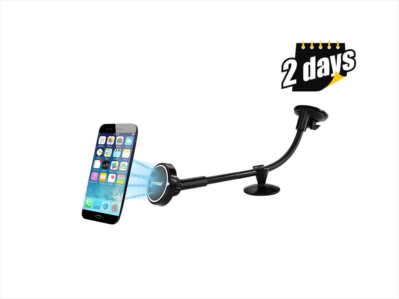 IPOW Magnetic Phone Car Mount Universal Windshield Mount