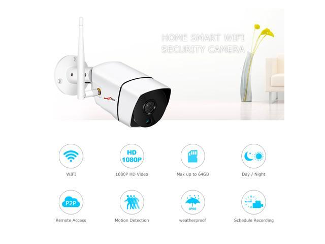 ANRAN 1080P Wifi IP Camera Outdoor Waterproof H.264 HD