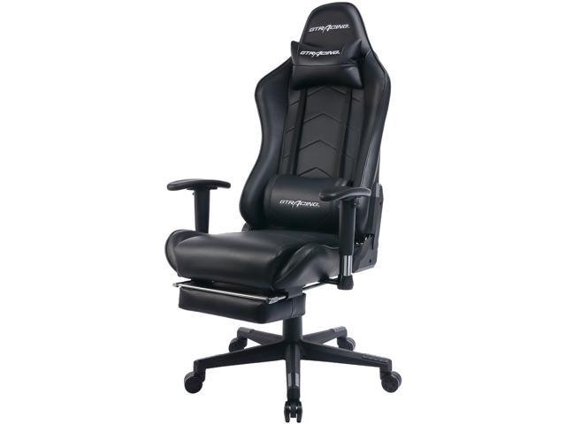 heavy duty gaming chair wedding hire nz gtracing office with footrest e sports for pro gamer