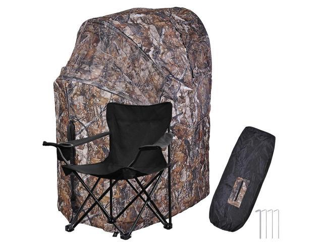 duck hunting chair retro outdoor chairs pro ground blind real tree camo tent one man hunt turkey deer