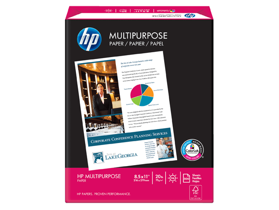 HP Multipurpose Paper-5 reams/Letter/8.5 x 11 in | HP® Official Store