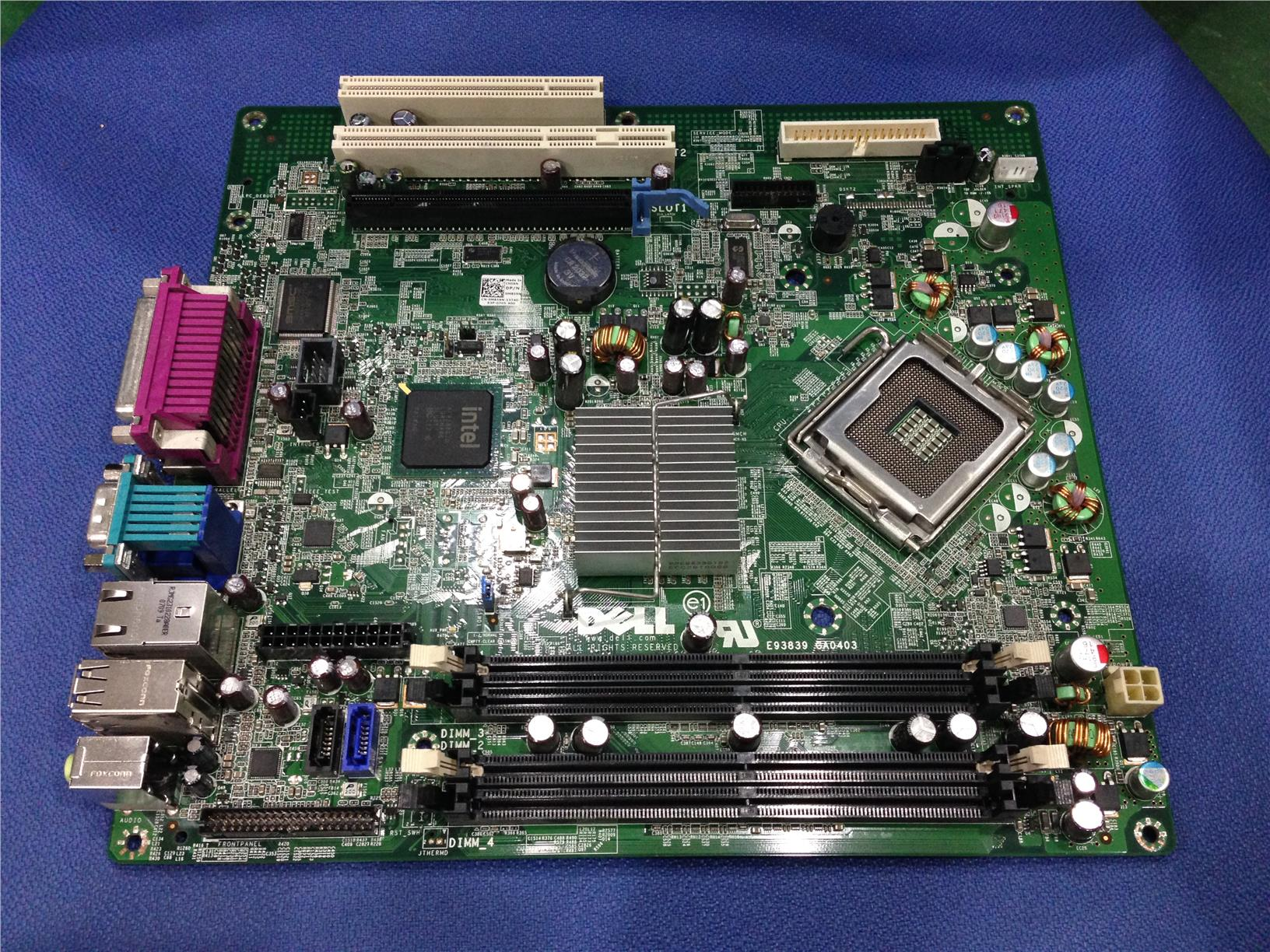 hight resolution of  dell e93839 ga0403 lga775 socket motherb